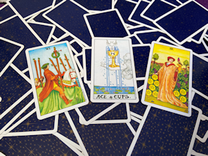 Three Card Tarot Spread with Rider Waite Tarot Deck