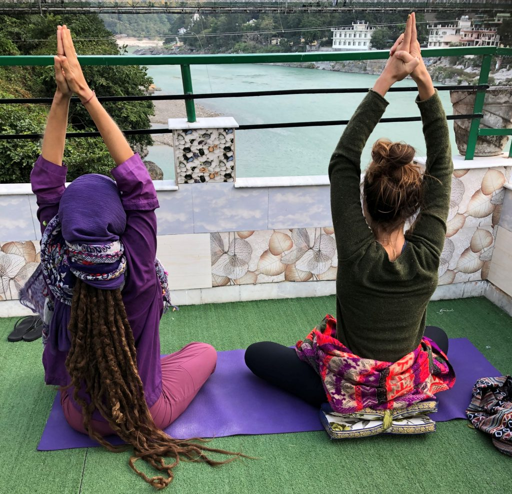 Kriya Yoga along the Ganges